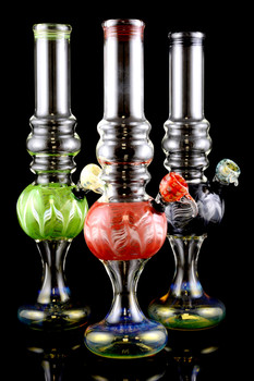 (US Made) Large Color Changing Glass Water Pipe - WP1292