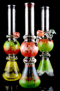 (US Made) Large Colorful Glass Water Pipe - WP1293