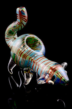 Silver Fumed Mouse Pipe - AP194