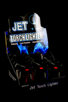 12 pc Jet Torch Lighter Display - L157