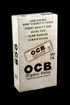 "OCB Organic Hemp 1 1/4"" Rolling Papers - RP204"