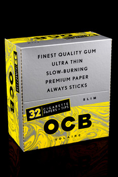 OCB Solair King Size Slim Rolling Papers & Tips - RP208