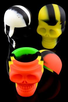 15ml Silicone Skull Jar - J161