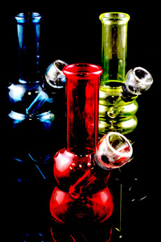 Mini Painted Glass Water Pipe - WP1335