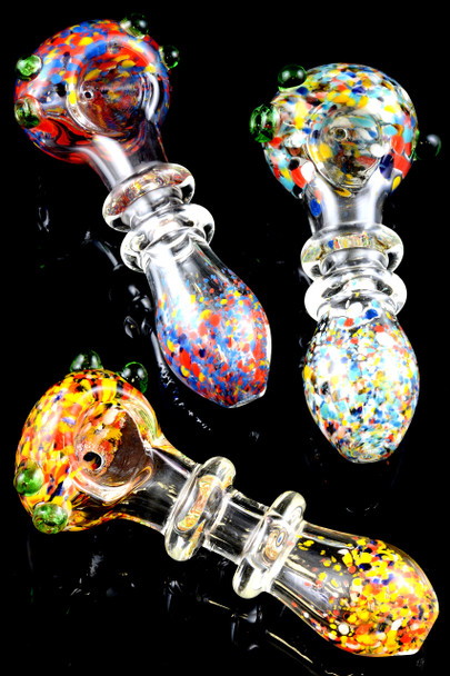 Frit Glass Pipe - P1352
