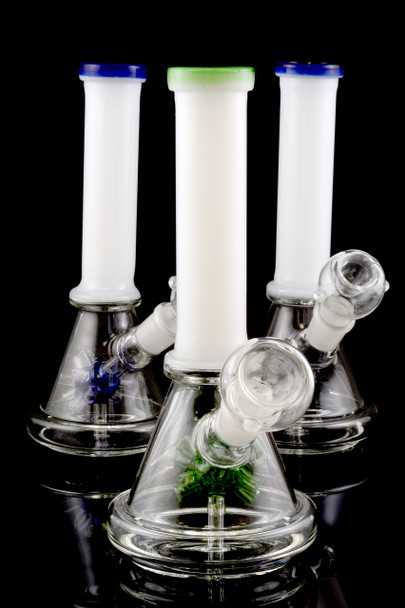 Small Stemless GoG Water Pipe with Sprinkler Perc - WP1262