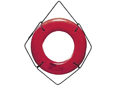 "Life Ring Buoy 20"" Orange Cal June Hard Shell - 58-HS20O"