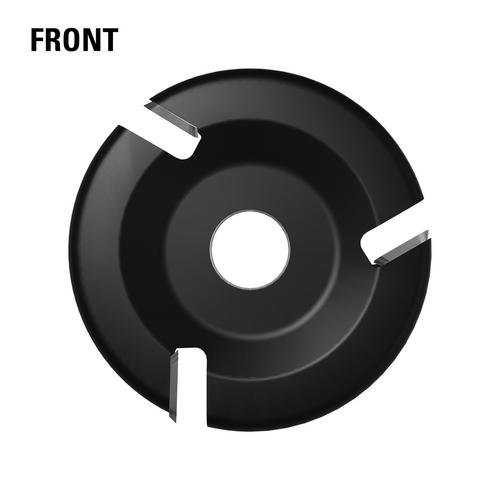 Front - 4'' 3 Slot Carbide Flat (Thin Design)
