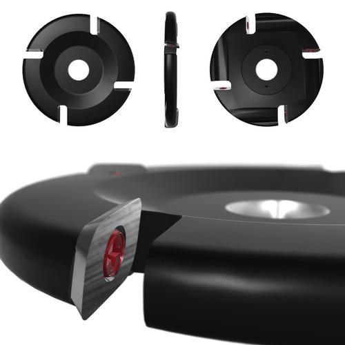 "4.5"" - 4 Slot Carbide Flat Disc (Thin Design) (#zz)"