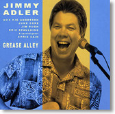 """Grease Alley"" blues CD by Jimmy Adler"