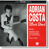 """Self-Titled"" blues CD by Adrian Costa Blues Band"