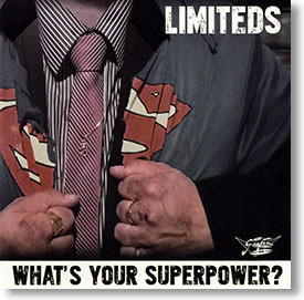 """""""What's Your Superpower?"""" rockabilly CD by Limiteds"""