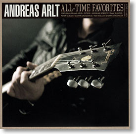 """""""All-Time Favorites"""" blues CD by Andreas Arlt"""