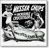 """The Incredible Crocotiger"" surf CD by Messer Chups"