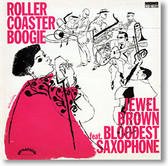 """""""Roller Coaster Boogie"""" blues CD by Jewel Brown"""