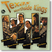 """""""Self Titled"""" blues CD by Texas Northside Kings"""