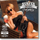 """""""Pool Party EP"""" surf CD by Los Surfer Compadres"""