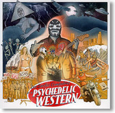 """""""Psychedelic Western"""" surf CD by Los Surfer Compadres"""