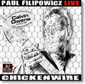 """Chickenwire"" blues CD by Paul Filipowicz"