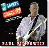 """Saints and Sinners"" blues CD by Paul Filipowicz"