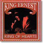 """""""King of Hearts"""" blues CD by King Ernest"""