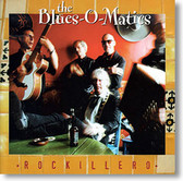 """Rockillero"" rockabilly CD by The Blues-O-Matics"