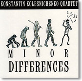 """Minor Differences"" blues CD by Konstantin Kolesnichenko Quartet"