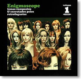 """Enigmascope Volume 1"" surf CD by Retrofoguetes"