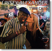 """""""Two Cats"""" blues CD by Linsey Alexander"""