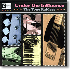 """""""Under The Influence"""" surf CD by The Tone Raiders"""