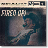"""Fired Up!"" blues CD by Dave Riley & Junior Binzugna Band"