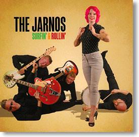 """Surfin' & Rollin'"" surf CD by The Jarnos"
