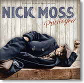 """""""Privileged"""" blues CD by Nick Moss"""
