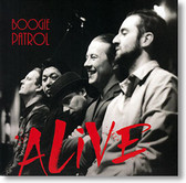 """Alive"" blues CD by Boogie Patrol"