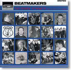 """""""Nuthin' Fancy"""" surf CD by Beatmakers"""