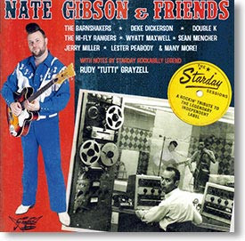 """""""The Starday Sessions"""" rockabilly CD by Nate Gibson & Friends"""