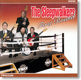 """First Round"" surf CD by The Sleepwalkers"