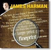 """Fineprint"" blues CD by James Harman"