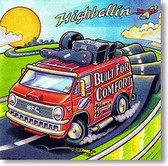 """""""Highballin'"""" blues CD by Built For Comfort Blues Band"""
