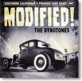 """""""Modified!"""" surf CD by The Dynotones"""