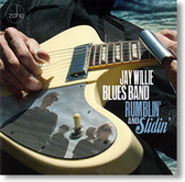 """Rumblin' and Slidin'"" blues CD by Jay Willie Blues Band"
