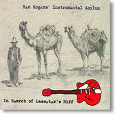 """In Search of Lasseter's Riff"" surf CD by Ben Rogers' Instrumental Asylum"