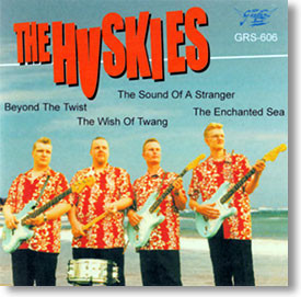 """Self Titled"" surf CD by The Huskies"