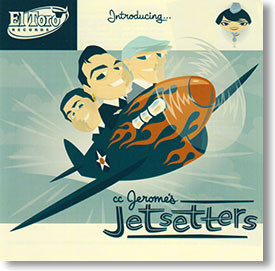 """""""Introducing"""" rockabilly CD by CC Jerome's Jetsetters"""