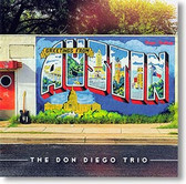 """""""Greetings From Austin"""" rockabilly CD by The Don Diego Trio"""
