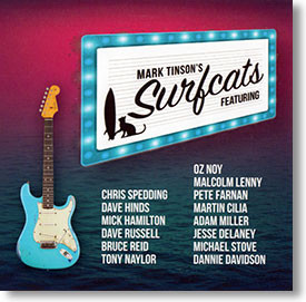 """Mark Tinson's Surfcats"" surf CD by Mark Tinson"