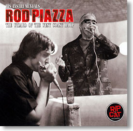 """His Instrumentals"" blues CD by Rod Piazza"