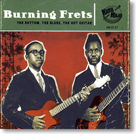 """Burning Frets"" blues CD by Various Artists"