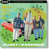 Husky and The Sandmen - Ridin' The Wild Surf