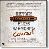Various Artists - History of The Blues Harmonica Concert